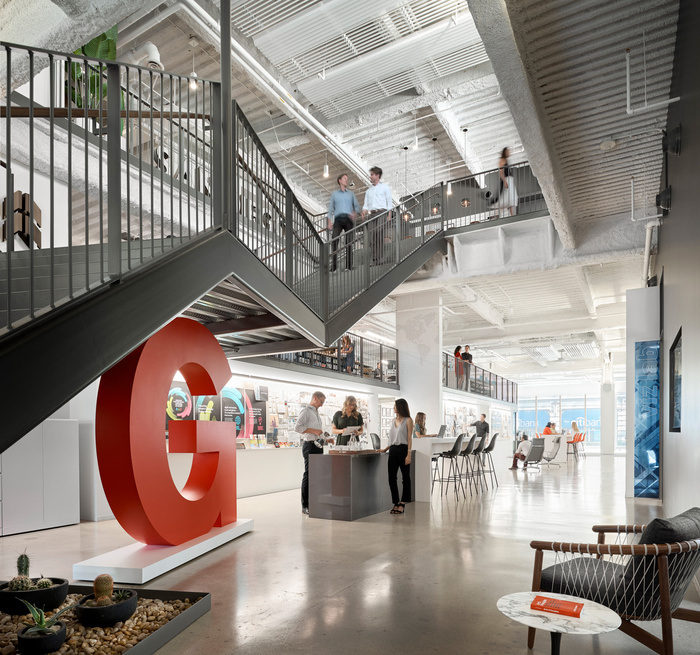Spacestor workspace of the week gensler san diego for Innovation firm los angeles